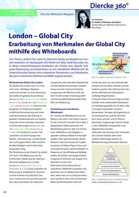 arbeitsblatt sek i london global city erarbeitung von merkmalen der global city mithilfe. Black Bedroom Furniture Sets. Home Design Ideas