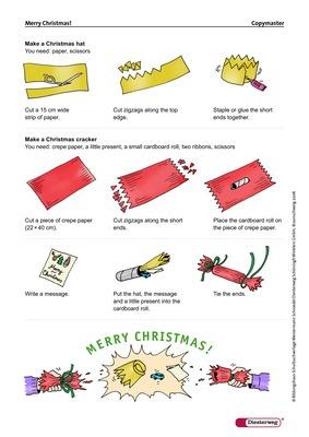 Merry Christmas Christmas Cracker Selbstgemacht Verlage Der