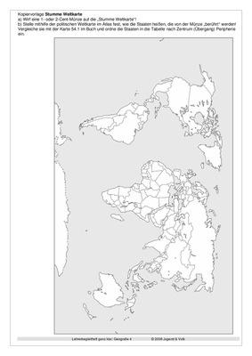 Kopiervorlage Stumme Weltkarte Westermann Gruppe In österreich