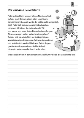 der einsame leuchtturm fortsetzungsgeschichte schreiben verlage der westermann gruppe. Black Bedroom Furniture Sets. Home Design Ideas
