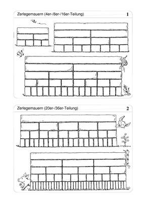 zerlegemauern blankovorlage verlage der westermann gruppe. Black Bedroom Furniture Sets. Home Design Ideas