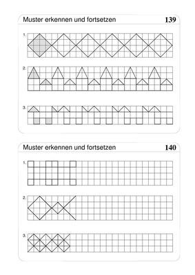 Muster Fortsetzen Grundschule Arbeitsblatt - Carterdigital.club
