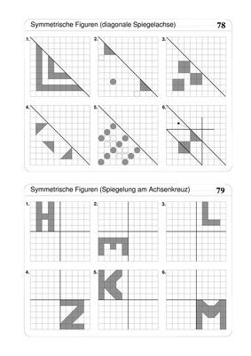 Mathe 4 klasse geometrie spiegeln