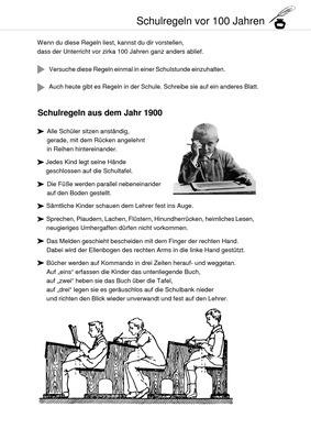 schule fr her und heute schulregeln vor 100 jahren verlage der westermann gruppe. Black Bedroom Furniture Sets. Home Design Ideas