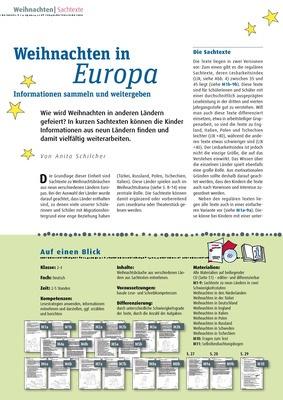 weihnachten in europa informationen sammeln und weitergeben verlage der westermann gruppe