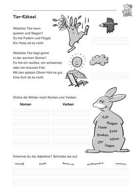 Tier-Rätsel - Tierbeschreibungen: Verlage der Westermann Gruppe