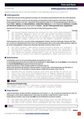 Geschäftsbrief Form Nach Norm Winklers Verlag
