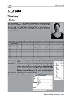 excel 2010 zeitrechnung informationsblatt verlage der westermann gruppe. Black Bedroom Furniture Sets. Home Design Ideas