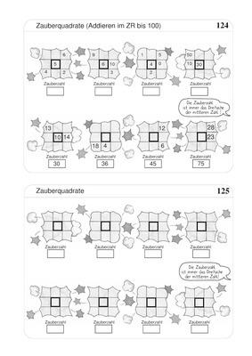 zauberquadrate addieren bis 100. Black Bedroom Furniture Sets. Home Design Ideas