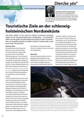 Arbeitsblatt Sek I: Touristische Ziele an der schleswig ...