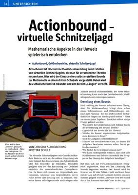 Actionbound - virtuelle Schnitzeljagd - Mathematische Aspekte in der ...