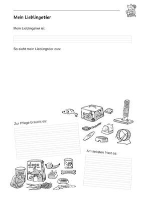 Mein Lieblingstier - Informationen notieren: Verlage der Westermann ...
