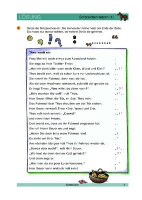 Satzzeichen Setzen 1 Satzzeichen Und Wörtliche Rede