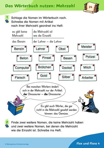 Flex Und Flora Entdeckerkartei Deutsch 4 Diesterweg Verlag