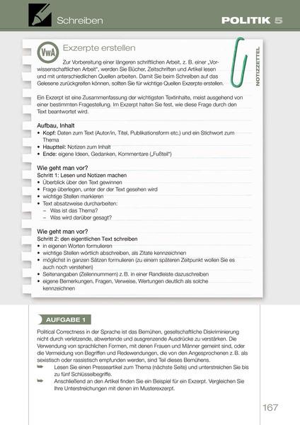 seite 167 - Zusammenfassung Schreiben Deutsch