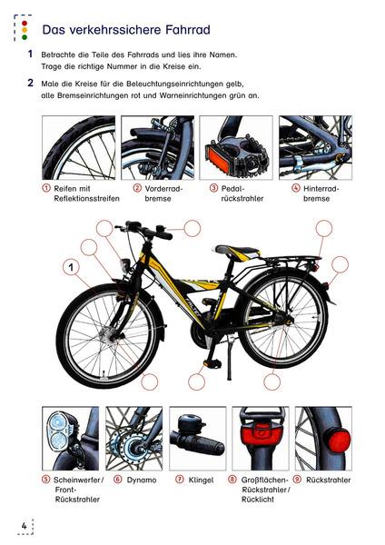primo verkehrserziehung aktuelle ausgabe mit dem fahrrad unterwegs arbeitsheft 3 das. Black Bedroom Furniture Sets. Home Design Ideas