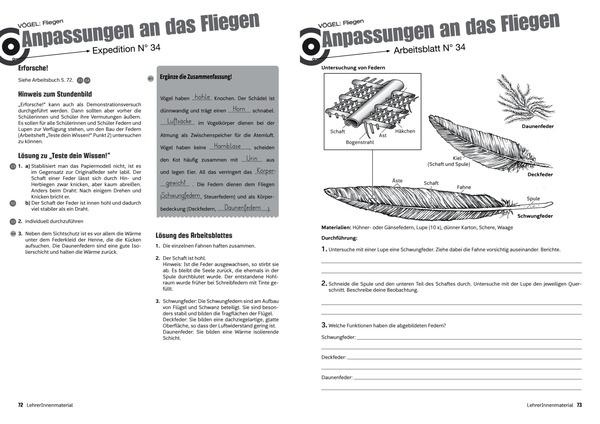Expedition Biologie 1 - Lehrer/innenmaterial, Aktualisierung ...