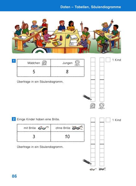 Nett Mathe Praxis Einer Tabelle 1. Klasse Ideen - Gemischte Übungen ...