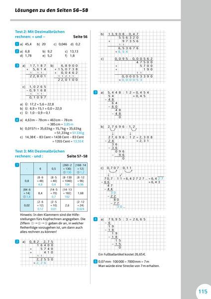 klassenarbeiten mathe klasse 3
