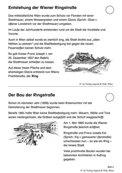 Das will ich wissen 21 - Aktualisierung - Wien 1: Die Ringstraße ...