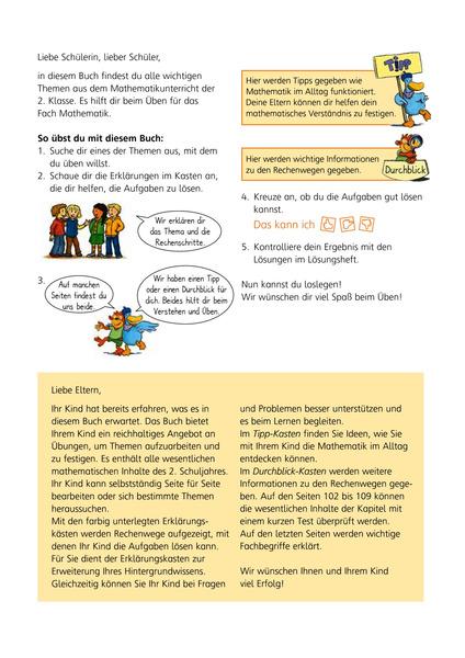 Mathe - Das kann ich! - Übungsheft Klasse 2 - Denken und Rechnen ...