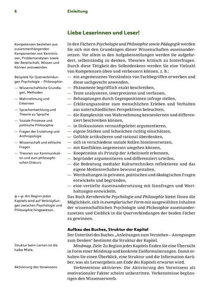 Kernbereiche Psychologie und Philosophie mit CD-ROM + E-Book ...