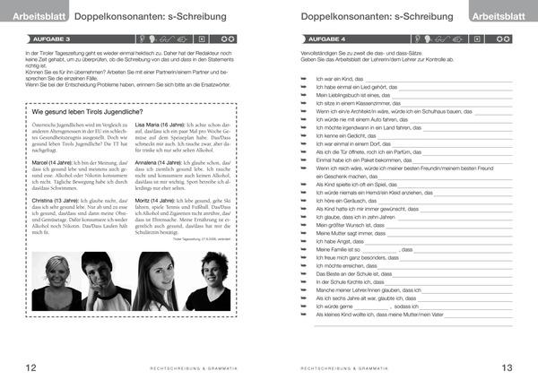 ansprechend - Deutsch 5 AHS - Arbeitsheft (Rechtschreibung und ...