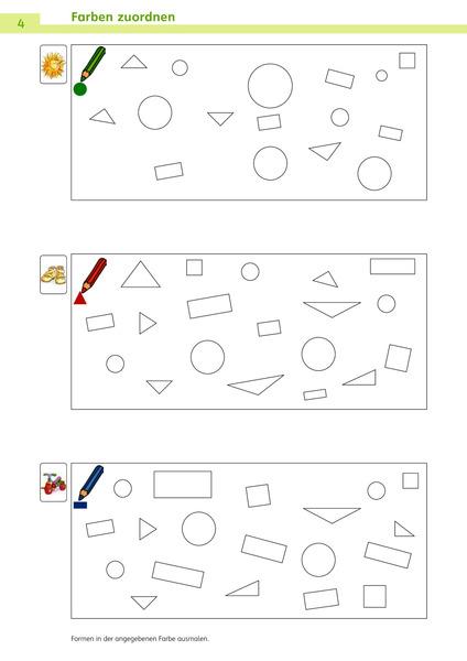 Charmant Farbe Nach Anzahl Kindergarten Zeitgenössisch - Entry Level ...