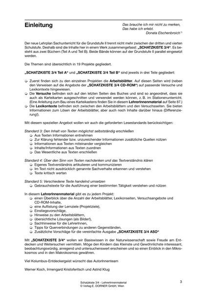 Schatzkiste 34 Lehrerinnenmaterial Westermann Gruppe In österreich