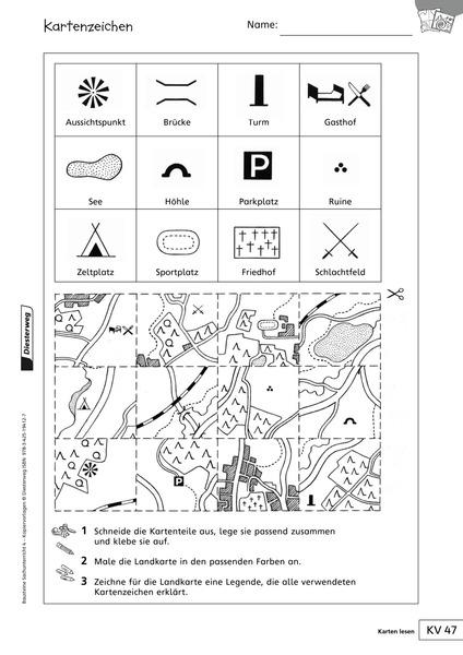 Atemberaubend Karte Teile Arbeitsblatt Ideen - Arbeitsblätter für ...