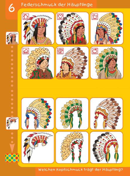 Indianer Kleine Bunte Feder und seine ... WESTERMANN bambino LÜK Heft 7884