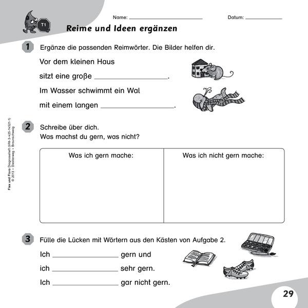 Flex und Flora - Diagnoseheft 2 - Mein Weg durch den ...