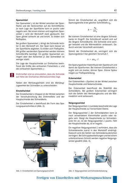 Zerspanungsmechanik Fachwissen - Schülerband: Bildungsverlag EINS