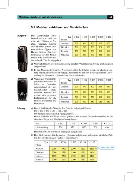 Elemente der Mathematik SII - Leistungskurse allgemeine Ausgabe 2001 ...