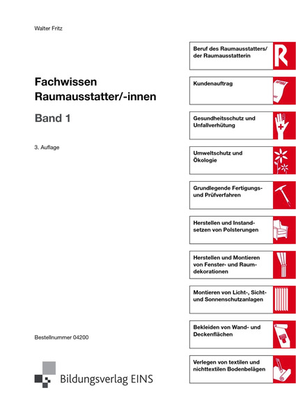 Fachwissen f r raumausstatter innen l sungen 1 for Raumausstatter schweiz