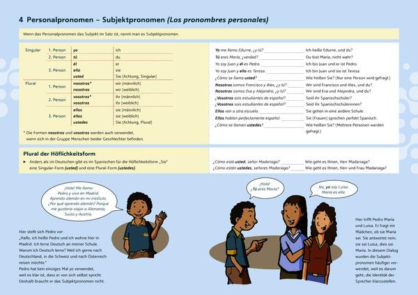 Schulwissen griffbereit - Spanische Grammatik: Schroedel Verlag
