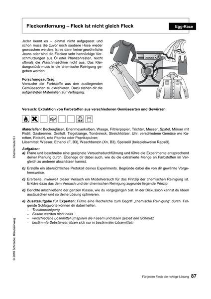 Chemie heute SI - Kontextorientierte Lehrermaterialien - Teil 2 ...