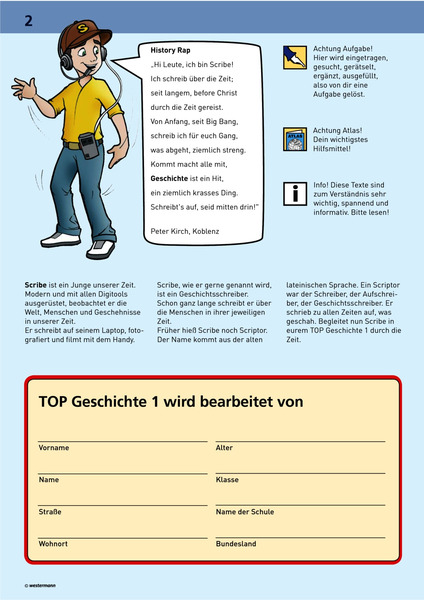 TOP Geschichte 1 - Frühgeschichte und Antike: Diercke Webshop