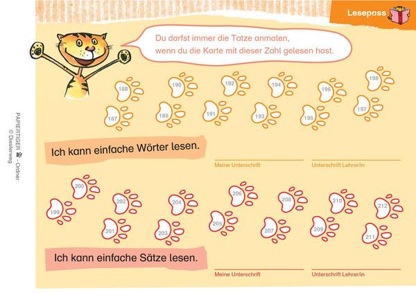 PAPIERTIGER 1 - Laute - Buchstaben - Lesen 1 (Ordner): Diesterweg Verlag