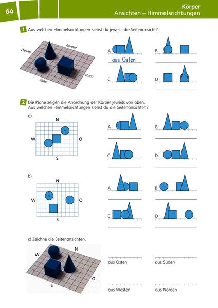 denken und rechnen zusatzmaterialien ausgabe 2011 geometrieheft klasse 3 4 verlage der. Black Bedroom Furniture Sets. Home Design Ideas
