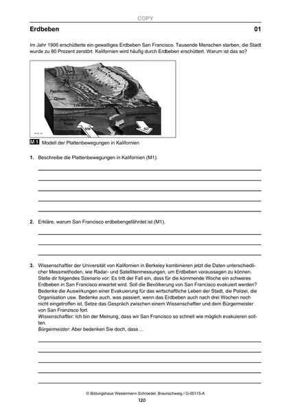 Arbeitsblätter für den binnendifferenzierten Erdkunde-Unterricht ...