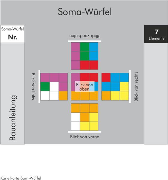 Soma Würfel Bauanleitung
