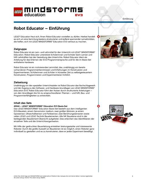 Lego Mindstorms Education Ev3 Unterrichtspaket Konstruktionsprojekte