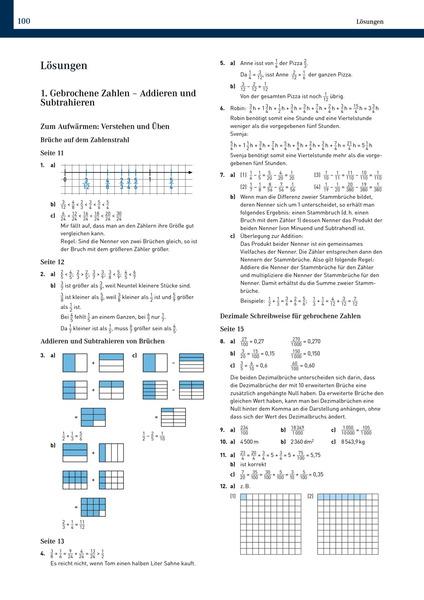 Elemente der Mathematik Klassenarbeitstrainer - Ausgabe für ...