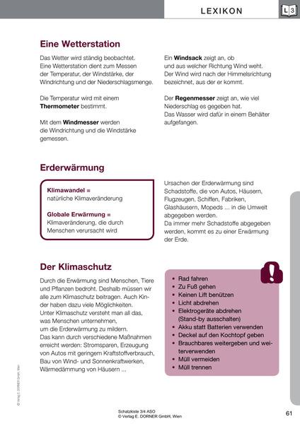 SCHATZKISTE 3/4 ASO: Westermann Gruppe in Österreich