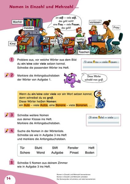 Flex und Flora - Heft Sprache untersuchen 2 - Für die Ausleihe ...
