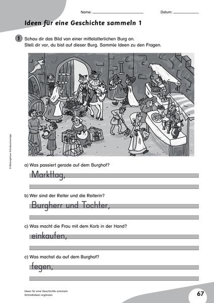 Flex und Flora - Kopiervorlagen Deutsch 3: Diesterweg Verlag