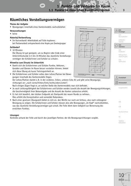 Elemente der Mathematik SII - Unterrichtsmaterialien Analytische ...