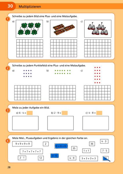 Awesome Multiplikation Farbe Nach Anzahl Arbeitsblätter Zum ...
