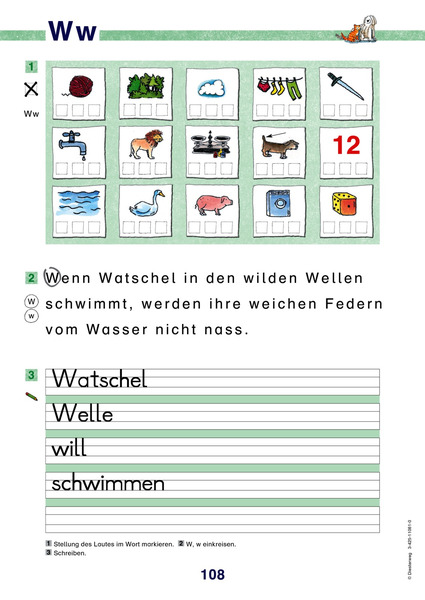 BAUSTEINE Fibel - Ausgabe 2003 - Arbeitsblätter: Diesterweg Verlag